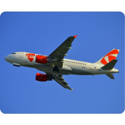 podlozka letadlo csa