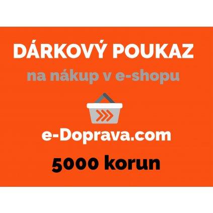 darkovy poukaz 5000